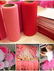 cheap -Organza / PC Wedding Accessories Ceremony Decoration - Wedding / Party / Birthday Garden Theme / Fairytale Theme
