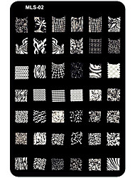 cheap -Metal For Finger Toe Other Lovely nail art Manicure Pedicure Flower / Abstract / Cartoon / Punk
