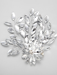 cheap -Rhinestone / Alloy Hair Clip with 1 Wedding / Special Occasion Headpiece