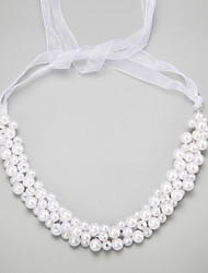 cheap -Imitation Pearl / Alloy Headbands with 1 Wedding / Special Occasion Headpiece