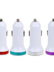 Недорогие -автомобильное зарядное устройство 5v 2.1a Dual USB-порты быстрая зарядка для Iphone Samsung и других