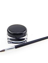 abordables -Eyeliner Accessoires de Maquillage Baume Maquillage 1 pcs Plastique Œil Quotidien Maquillage Quotidien Respirable Séchage rapide Dense Cosmétique Accessoires de Toilettage