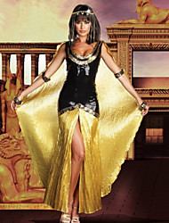 cheap -Egyptian Costume Cosplay Costume Women's Halloween Carnival Festival / Holiday Sequin Stretch satin Women's Carnival Costumes