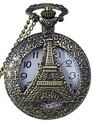 Недорогие -Муж. Жен. Универсальные Карманные часы Кварцевый 30 m С гравировкой Аналоговый