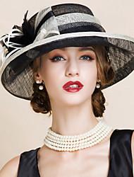 cheap -Women's Party Bowler / Cloche Hat - Color Block