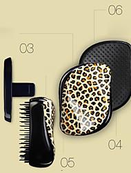 Недорогие -распутывании кисти tanglering леопарда волосы щеткой гребень (случайный цвет)