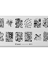 Недорогие -Прочие украшения - 1 - 12X6X0.1 - Цветы/Абстракция - Металл - Пальцы рук/Пальцы ног