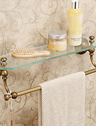 cheap -Bathroom Shelf Antique Brass 1 pc - Hotel bath
