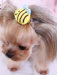 cheap -Cat / Dog Hair Accessories / Hair Bow Yellow Dog Clothes Spring/Fall Wedding / Cosplay