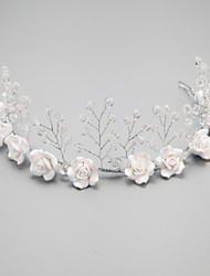 cheap -Crystal / Imitation Pearl / Alloy Headbands with 1 Wedding / Special Occasion Headpiece