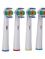 Недорогие -4шт на множество Замена электрической зубной щетки головки мягкой щетиной EB-18а для перорального б