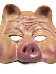 cheap -Halloween Mask Silicone Pig Horror Adults' Boys' Girls'