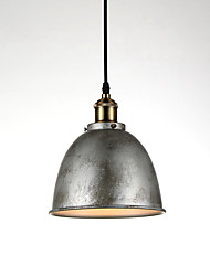 cheap -1-Light 21cm (8.3 inch) Mini Style Pendant Light Metal Bowl Painted Finishes Modern Contemporary 110-120V / 220-240V