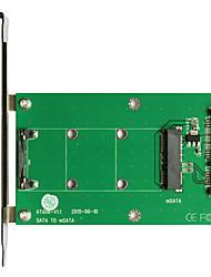 Недорогие -maiwo SATA для msata карты интерфейс карты kt008a