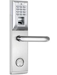 Недорогие -Нержавеющая сталь + категория А (ABS)  Блокировка отпечатков пальцев Умная домашняя безопасность система Дома / квартира / Гостиница Дверь безопасности / Деревянная дверь / Композитная дверь