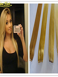 cheap -Flip In Human Hair Extensions Straight Human Hair Human Hair Extensions Brazilian Hair Halo Extensions Women's Grey