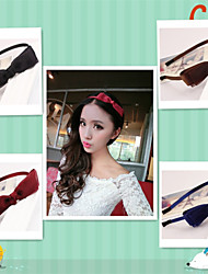 cheap -New Han Edition Multilayer Bow Net Yarn With Fine Hair Hoop Card Color Option