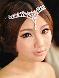 cheap -Alloy Head Chain with 1 Wedding / Special Occasion Headpiece