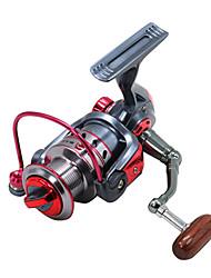 cheap -Fishing Reel Spinning Reel 5.2:1 Gear Ratio+11 Ball Bearings Hand Orientation Exchangable Bait Casting / Ice Fishing / Spinning - XY3000 / Freshwater Fishing / Carp Fishing / Bass Fishing