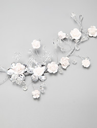 cheap -Crystal / Alloy Flowers with 1 Wedding / Special Occasion Headpiece