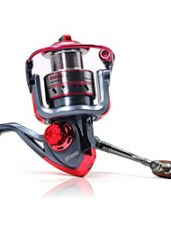cheap -Fishing Reel Spinning Reels 5.2:1 Gear Ratio+11 Ball Bearings Exchangable Bait Casting Ice Fishing Spinning Freshwater Fishing Other