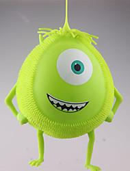 Недорогие -зритель мультфильм мягкий плюш мяч световой игрушки сброса давления аромат мяч (случайный цвет)