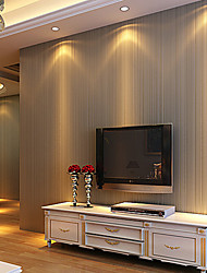cheap -Stripe Home Decoration Contemporary Wall Covering, Non-woven Paper Material Adhesive required Wallpaper, Room Wallcovering