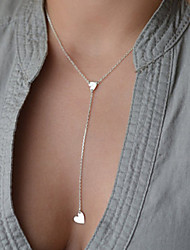 cheap -Women's Pendant Necklace Dainty Fashion Delicate Alloy Silver Golden Necklace Jewelry For Party Daily Casual