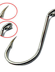cheap -50 pcs Fishing Hooks Bass Trout Pike Freshwater Fishing Carp Fishing General Fishing Steel Alloy Carbon Metal / Trolling & Boat Fishing