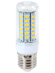 cheap -YWXLight® 1200 lm E14 G9 E26/E27 LED Corn Lights 56Led 5730SMD Warm White Cool White LED Light Bulb AC 110-130V AC 220-240V