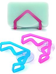 Недорогие -кухонная раковина ванна губки стойку с держателем чашки всасывания блюдо хранения ткань (случайный цвет)