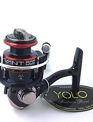 cheap -Ice Fishing Reel Fishing Reel Ice Fishing Reels 5.1:1 Gear Ratio+5 Ball Bearings Hand Orientation Exchangable Bait Casting Ice Fishing