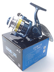cheap -Fishing Reel Spinning Reel 5.1:1 Gear Ratio 4 Ball Bearings for Bait Casting / Ice Fishing / Spinning - LL1000