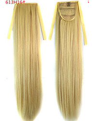 cheap -Ponytails Synthetic Hair Hair Piece Hair Extension Straight