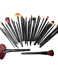 cheap -Professional Makeup Brushes Makeup Brush Set 32pcs Goat Hair / Synthetic Hair / Artificial Fibre Brush for Makeup Brush Set / Goat Hair Brush