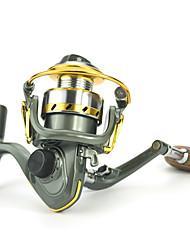 cheap -Fishing Reel / Ice Fishing Reel Ice Fishing Reels 5.2:1 Gear Ratio+12 Ball Bearings Hand Orientation Exchangable Bait Casting / Ice Fishing / Spinning - DK150 / Freshwater Fishing / Carp Fishing