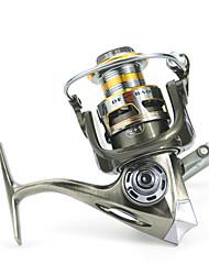 cheap -Fishing Reel Spinning Reel 5.2:1 Gear Ratio+12 Ball Bearings Hand Orientation Exchangable Sea Fishing / Bait Casting / Ice Fishing -