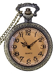 cheap -Men's Women's Unisex Pocket Watch Quartz Vintage Style Retro 30 m Analog Steampunk