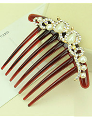 cheap -Side Combs Hair Accessories Rhinestones Wigs Accessories Women's pcs 6-10cm cm