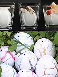 cheap -60Pcs White Hatching Growing Dinosaur Dino Eggs Add Water Magic Cute Children Toys