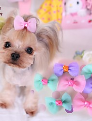 cheap -Cat / Dog Hair Accessories / Hair Bow Blue / Purple / Pink Dog Clothes Spring/Fall Wedding / Cosplay