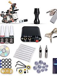 cheap -Tattoo Machine Starter Kit, 1 pcs Tattoo Machines with 4 x 5 ml tattoo inks - 1 cast iron machine liner & shader Professional