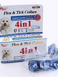 cheap -FUN OF PETS® 3 Pieces A Set Unique 4 in 1 Flea& Tick Collar for Pets Dogs Adjustable Neck 21-30cm