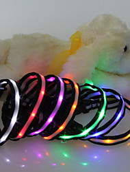cheap -Highlight LED Flash Collar for Dogs Four Colors(Assorted Size,Assorted Color)