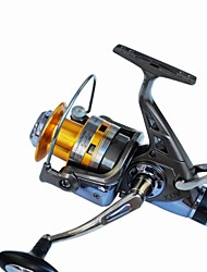 cheap -Fishing Reel Spinning Reel 5.2:1 Gear Ratio+10 Ball Bearings Hand Orientation Exchangable Sea Fishing / Spinning / Freshwater Fishing - KS6000 / Carp Fishing / General Fishing
