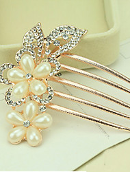 cheap -Side Combs Hair Accessories Pearl Wigs Accessories Women's pcs 11-20cm cm