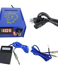 cheap -BaseKey Professional Tattoo Power Supply - 80-250 V Professional Plastic & Metal for Tattoo Machine Power Tattoo Machine