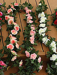 cheap -Artificial Flowers 1 Branch Wedding Flowers Roses Tabletop Flower