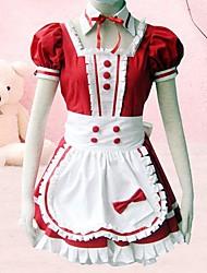 cheap -Dress Sweet Lolita Dress Women's Lolita Accessories Cotton Halloween Costumes