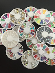 cheap -16PCS All Kinds Of Style Nail Art Decorations